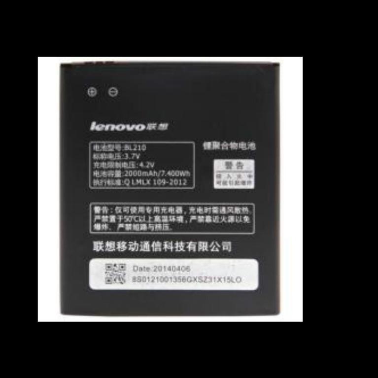 Delisa Store 2 Lenovo Baterai Lenovo BL210 battery Lenovo BL 210 baterai lenovo s650 Lenovo a536 Lenovo s820 Lenovo a656 lenovo A658T Lenovo a766 Lenovo A730E Lenovo A766 Lenovo A770E Lenovo S658T Lenovo S820E original - hitam