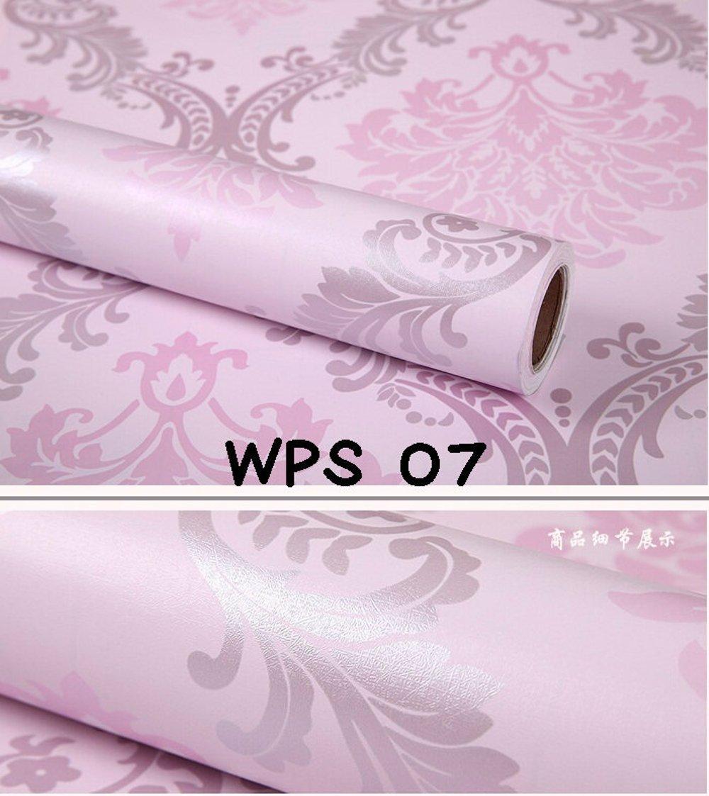 Wallpaper-Dinding Uk. 45cm X 10m Motif Pink Batik Pink Silver, 60.000, Update. STIKER WALLPAPER DINDING SIZE ...