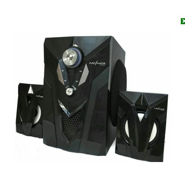 SP Advance M10BT Bluetooth Speaker - Hitam [Subwoofer System] - 4 . Source ·
