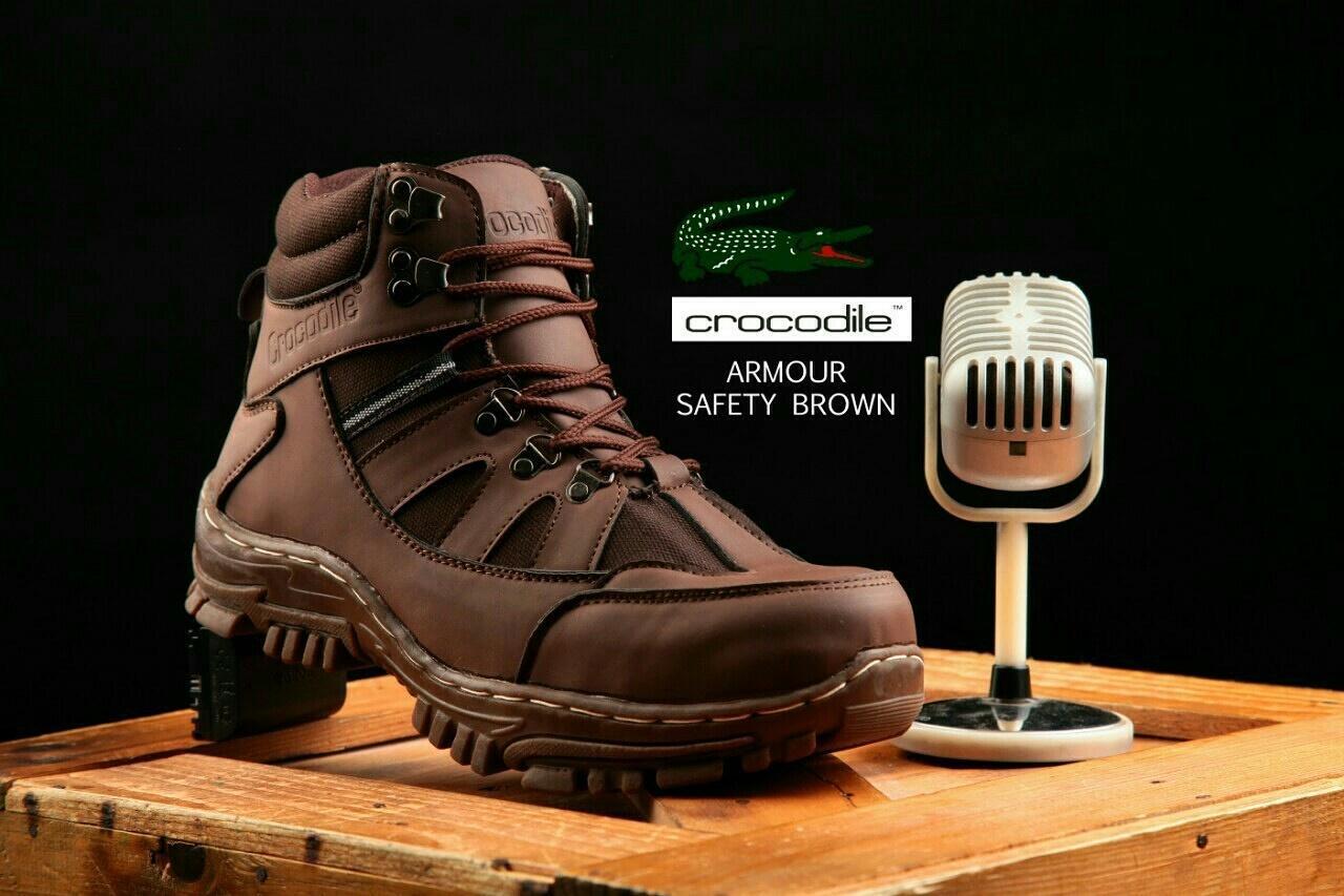 crocodile armour safety brown