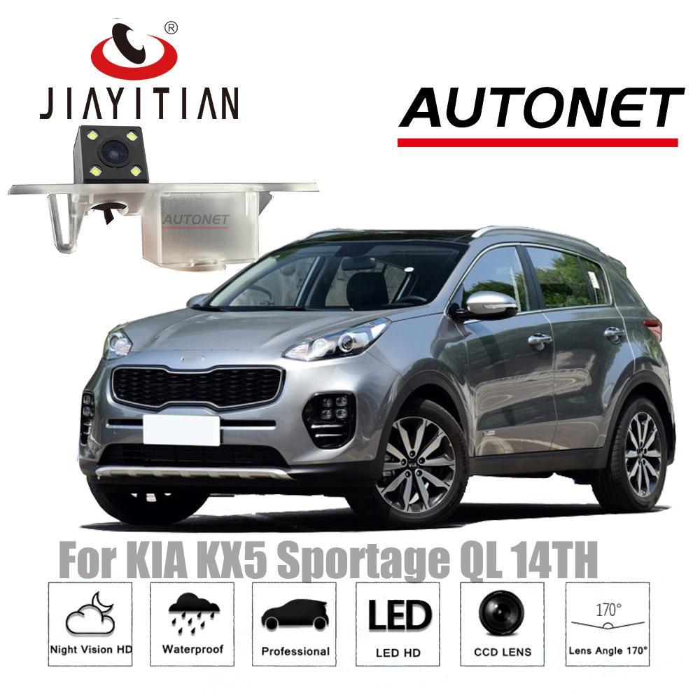 Jiayitian Kamera Belakang untuk Kia KX5 untuk Kia Sportage QL MK4 ~ Kamera Pengintai Penglihatan Malam Ccd Plat Nomor Kamera