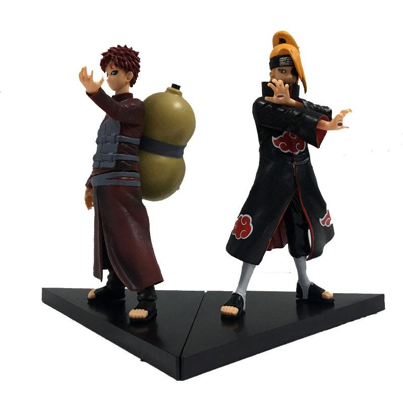 Anime Naruto 8 generasi 2 ninja naruto Saya suka Luo Dida La boneka tas PVC tangan untuk melakukan Gray