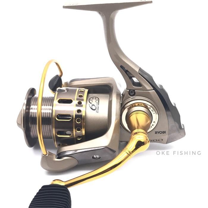 Reel Pancing Ryobi Tresor 4000 6 Bb / Ball Bearing - geUxJ4