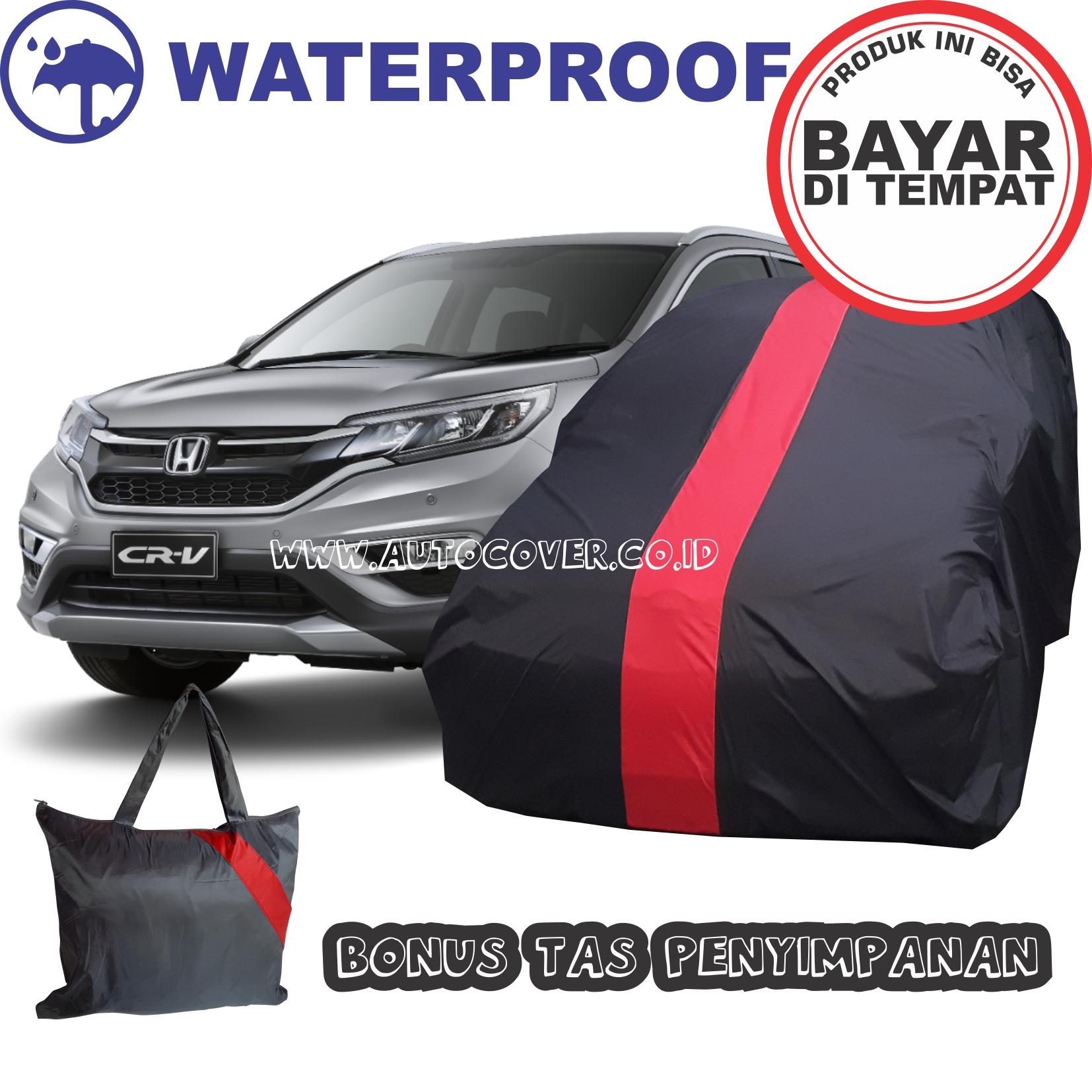 COD - Sarung Bodi Mobil Honda CRV Anti Air Cover Body CR-V MERAH  Waterproof Selimut Penutup Pelindung Selimut Mantel Anti Luntur Anti Lecet
