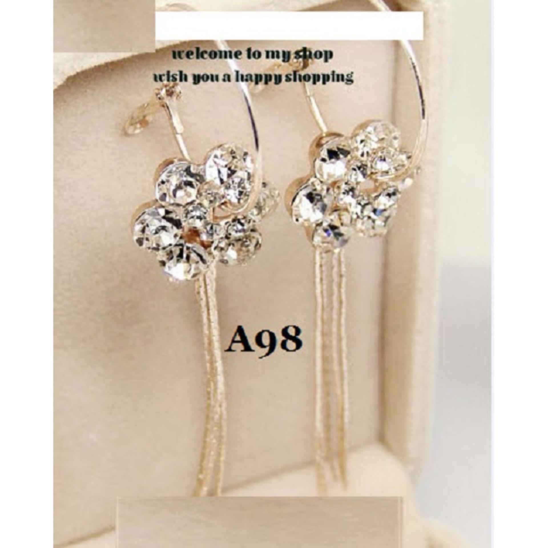 Anting Korea (Jual Kalung Cincin Gelang Xuping Perhiasan Imitasi)