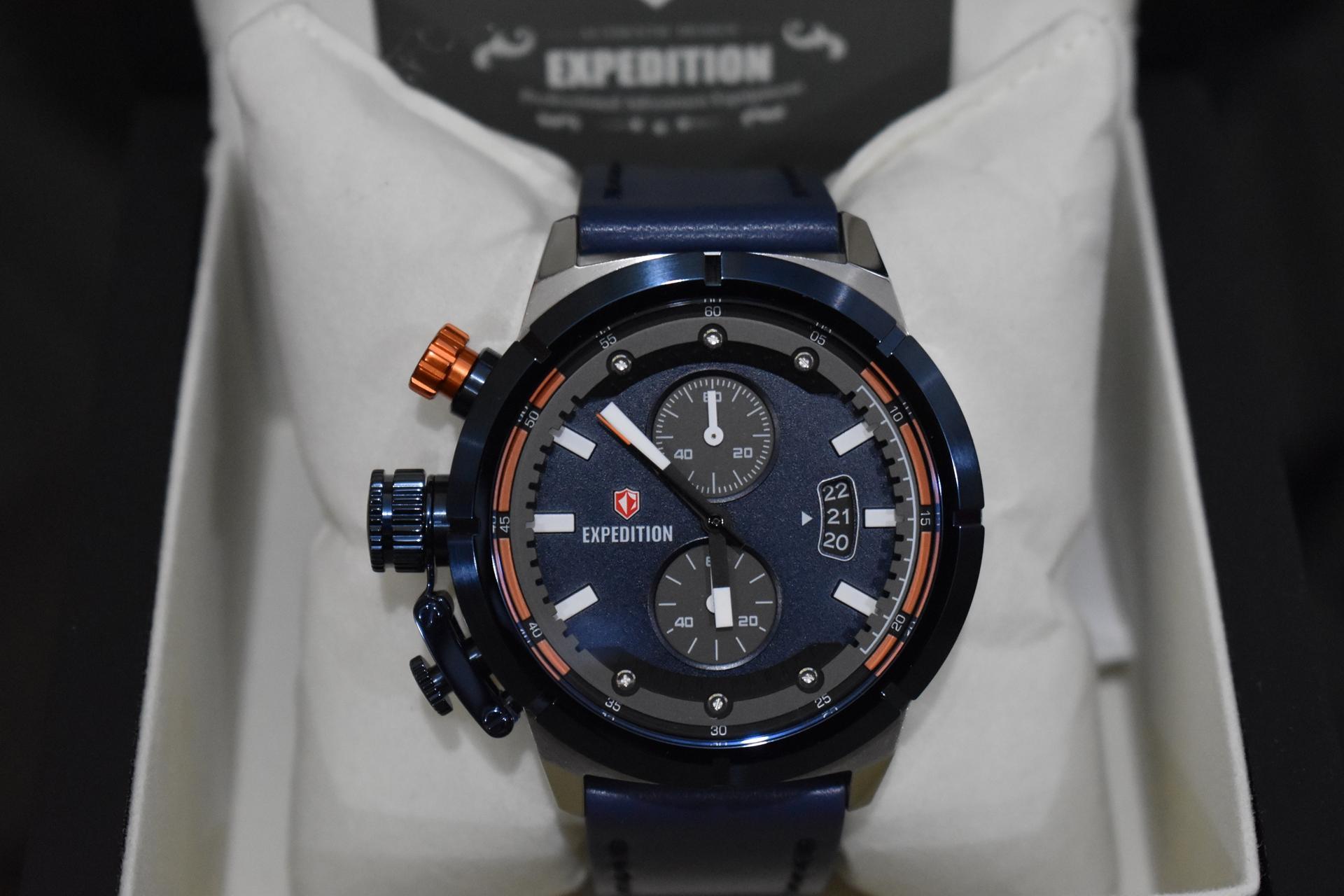 Harga Spesifikasi Jam Tangan Cowok Pria Expedition E6385 Silver E 6381silver Black 6765 Mcl E6765 Blue Leather Original
