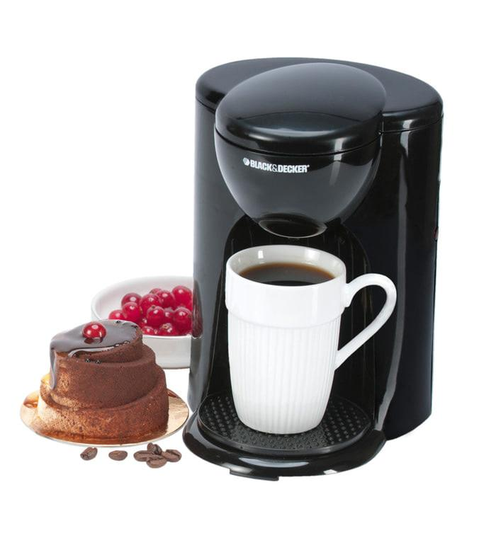 Coffee Maker / Alat Pembuat Kopi / Mesin 1 cup Black Decker DCM25-B1 Coffee Maker / Alat Pembuat Kopi / Mesin 1 cup Black Decker DCM25-B1