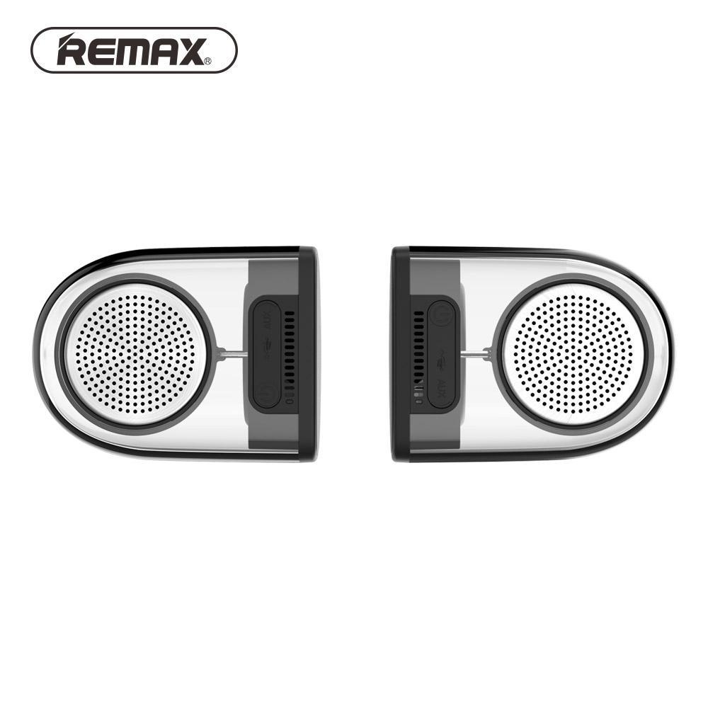 Remax Tws IPX5 Tahan Air 1.5 DROP Pencegahan Speaker Magnetik Pasang Speaker Portable Nirkabel Definisi Tinggi