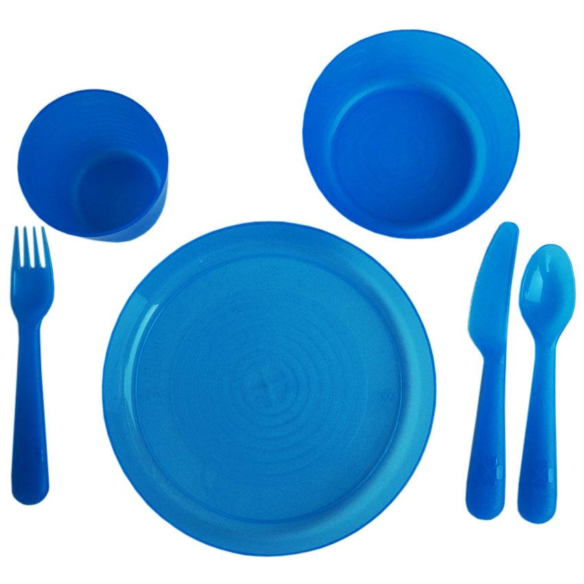 IKEA Ikea Set Peralatan Makan Anak Baby Cutlery Sets - Biru