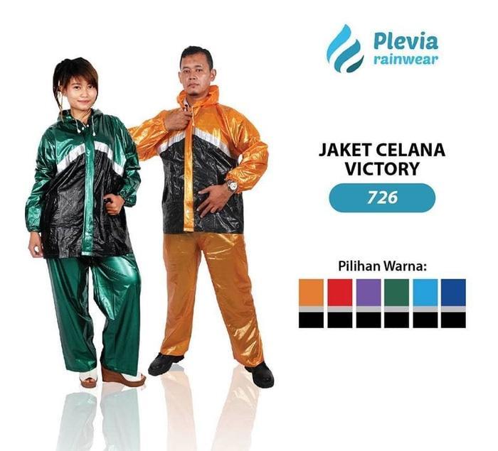 Jas Hujan Jaket Celana Plevia VICTORY 726 Motor bkn asv sunflower axio