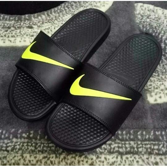 Sandal Sendal Pria Laki-Laki Keren Bagus Nike Original - 4Sg4og