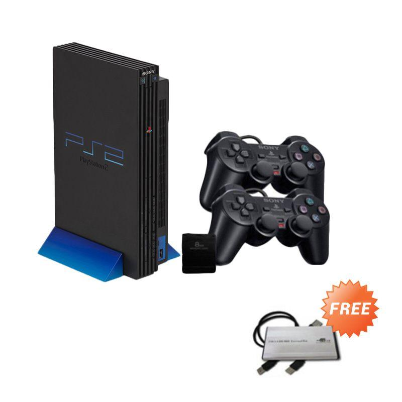 Sony PS2 Fat Hdd External 40Gb [FULL GAME ]+ Stick 2