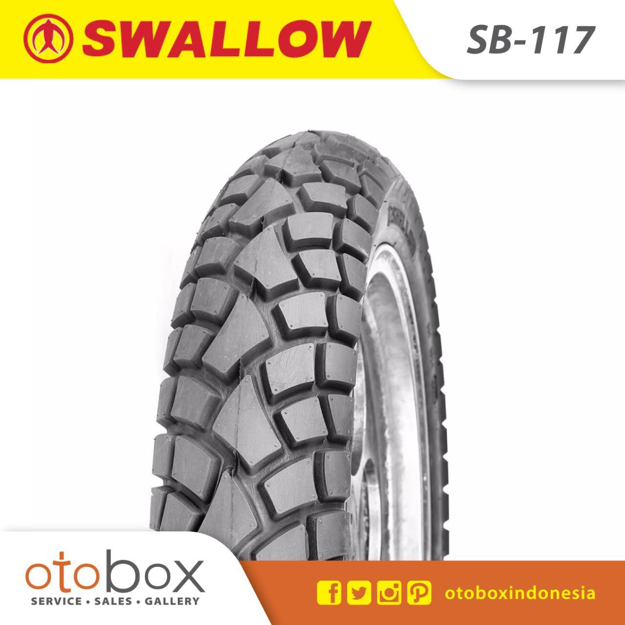 Ban Luar Motor Swallow Tubetype 90/90-14 SB-117 TT
