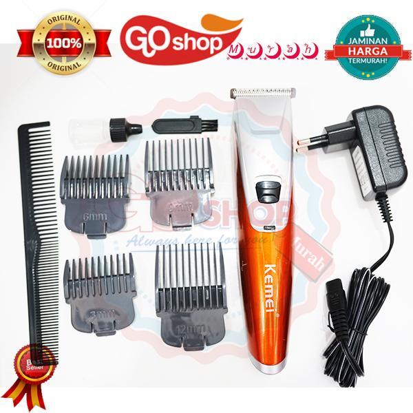 ORIGINAL Kemei KM 842 Alat cukur rambut japanes design Elektric hair clipper pangkas  rambut d54cd2aced