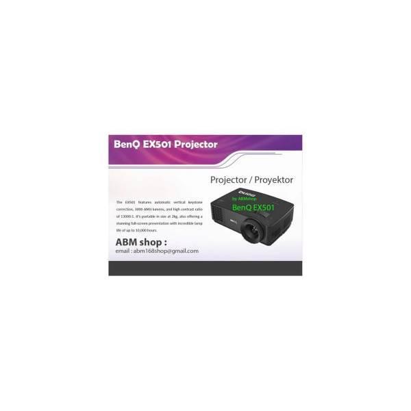 Projector Benq Ex501 XGA 1024X768 3000Lumens Garansi Distributor Resmi