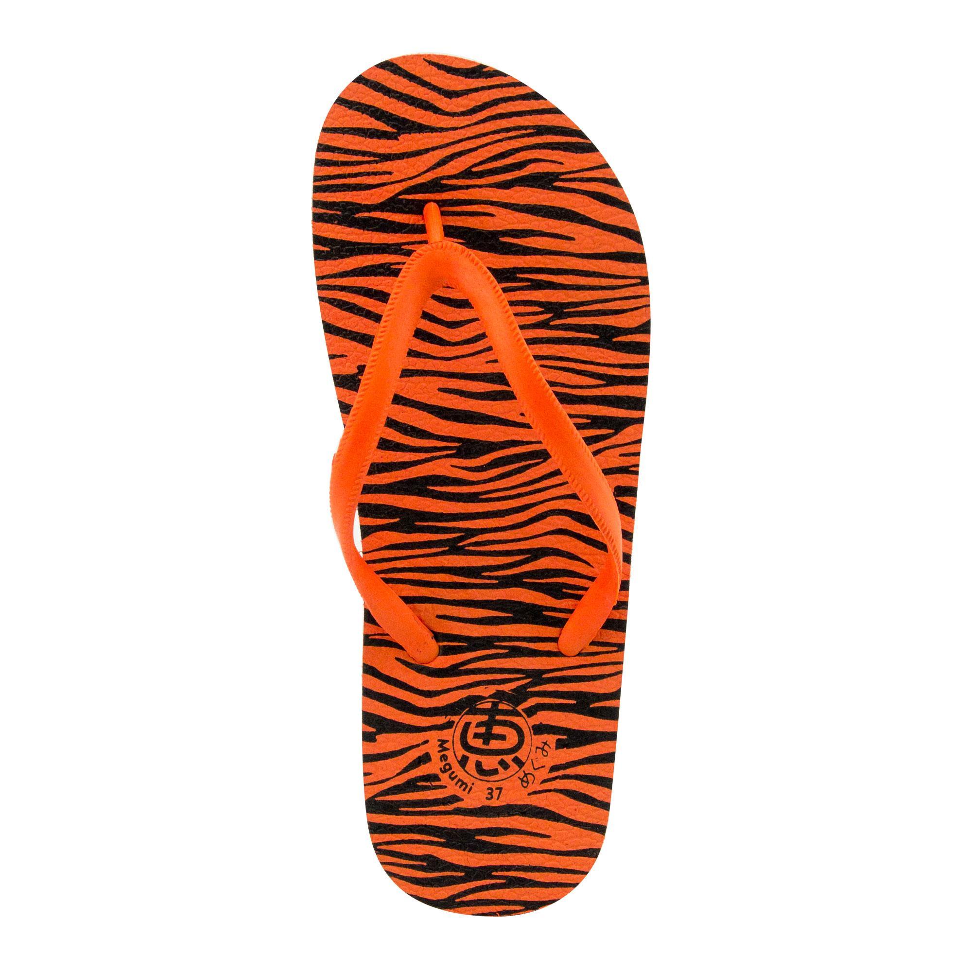 Megumi Sandal Jepit Pria Identity Merah Daftar Update Harga Usupso Womens Letter Slipper Muda Tiger Oranye 4