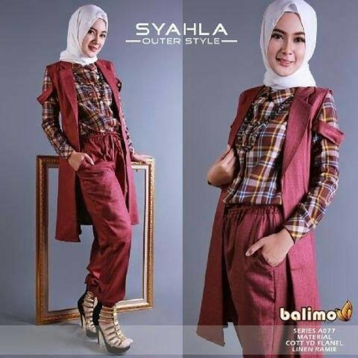 Balimo Syahla Series A077 ori by balimo
