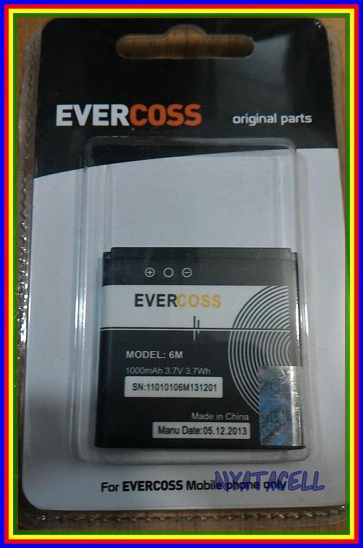 Evercoss 6M 1000Mah Batre Baterai Original 100% Ori Nokia Bl6M Bl6M