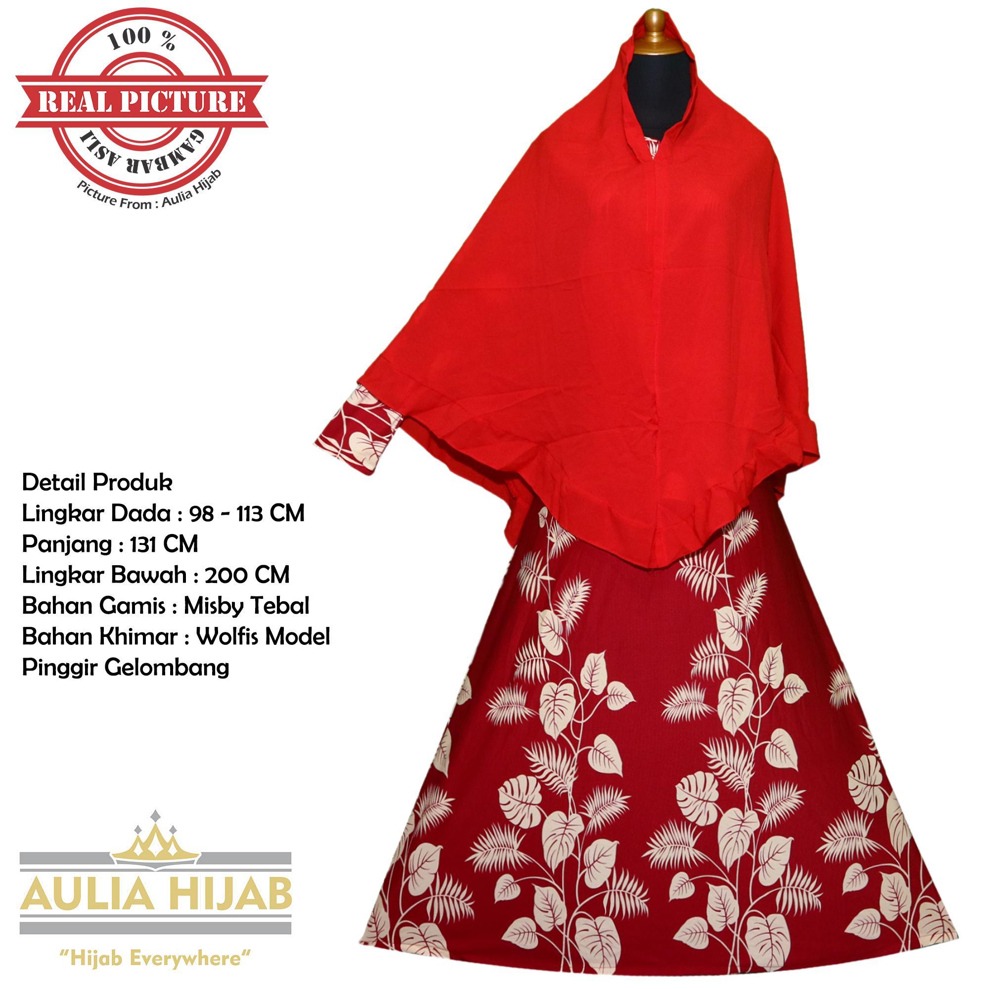 Aulia Hijab - New Alissa Syar'i INCLUDE KHIMAR/Gamis Syar'i/Gamis Misby/Gamis Wolfis/Gamis Laser/Gamis Murah/Gamis Terbaru/Gamis Jilbab/Gamis Plus Jilbab/Gamis Jilbab Panjang/Gamis Plus Khimar/Gamis Pesta/Gamis Cantik