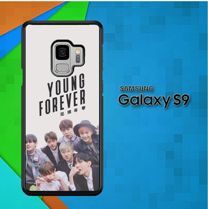 Casing Samsung Galaxy S9 Custom Hardcase Young Forever BTS O4059 Case Cover