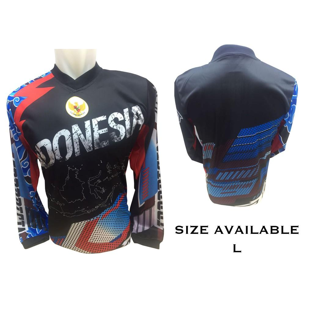 Buy Sell Cheapest Kaos Jersey Indonesia Best Quality Product Deals Timnas Baju Sepeda Motor Trail Gowes 651