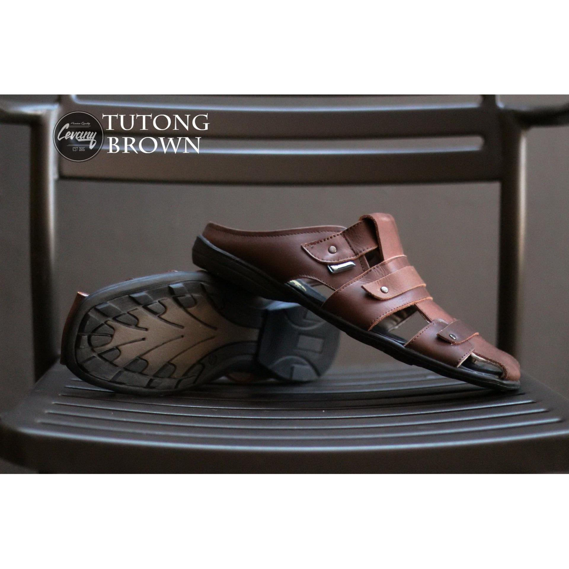 Kelebihan Sepatu Sandal Cevany Bustong Borongsong Kulit Sintetis Pantopel Veil Detail Gambar Premium Pantofel Pria Slop Terbaru