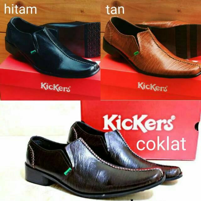 Jual Sepatu Formal Kickers GT Pria / Sepatu Pantofel Kerja Kantor Fashion Pria