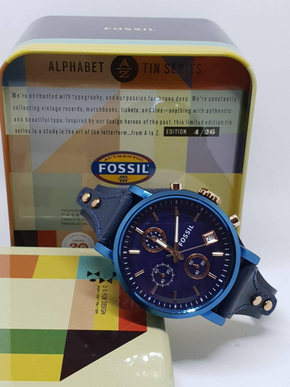 jam tangan wanita Fossil Premium Quality chrono aktif FS-8159