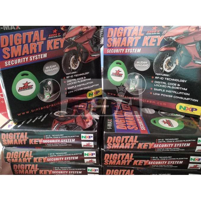 Alarm Motor Digital Smartkey Brt Yamaha Nmax - Dkgole