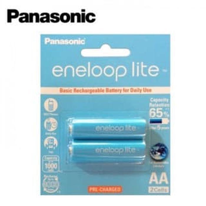 Best Seller Baterai Panasonic Eneloop Lite AA 1000Mah Rechargeable