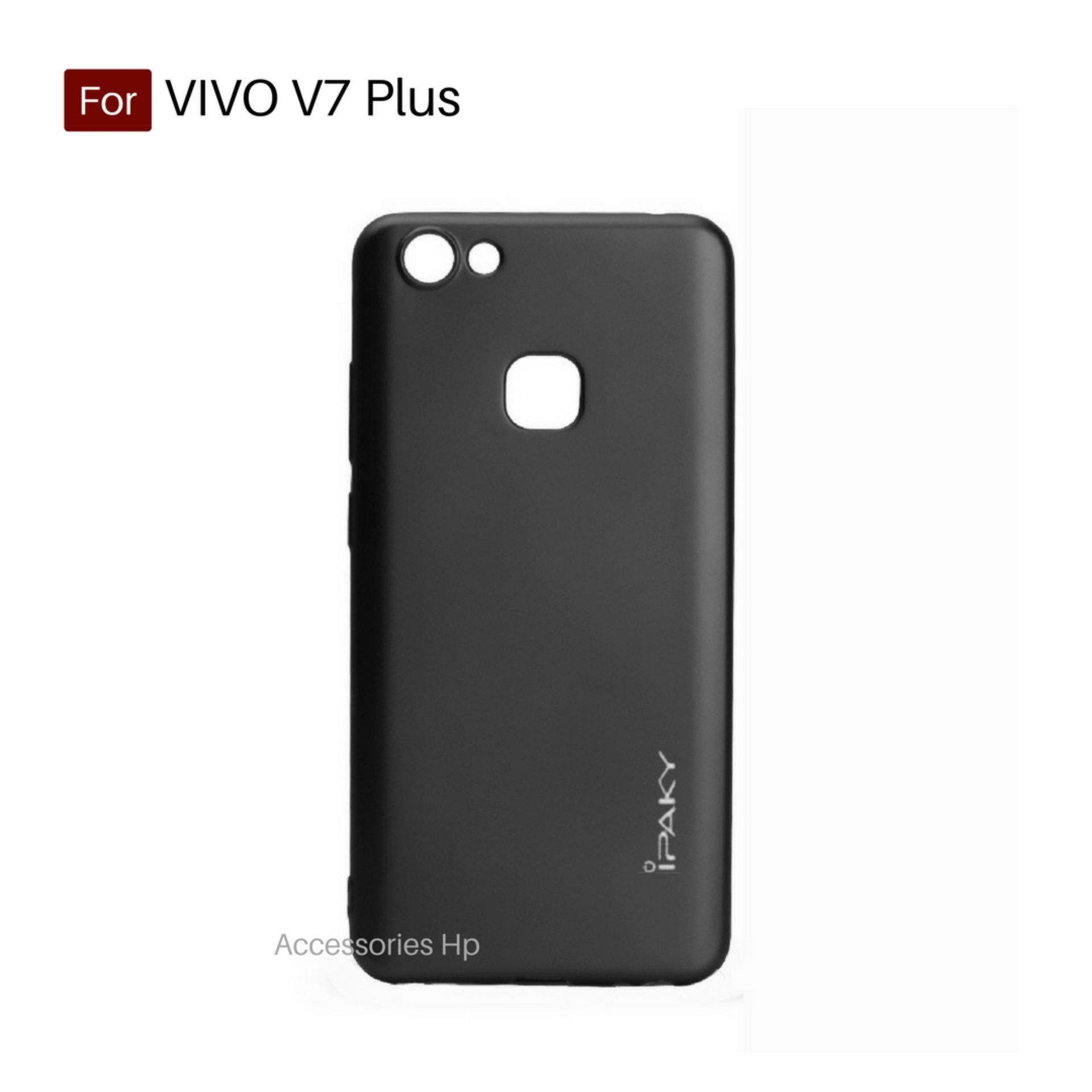 Accessories Hp iPaky Super Slim Matte Anti Fingerprint Hybrid Case For Vivo V7 Plus Black
