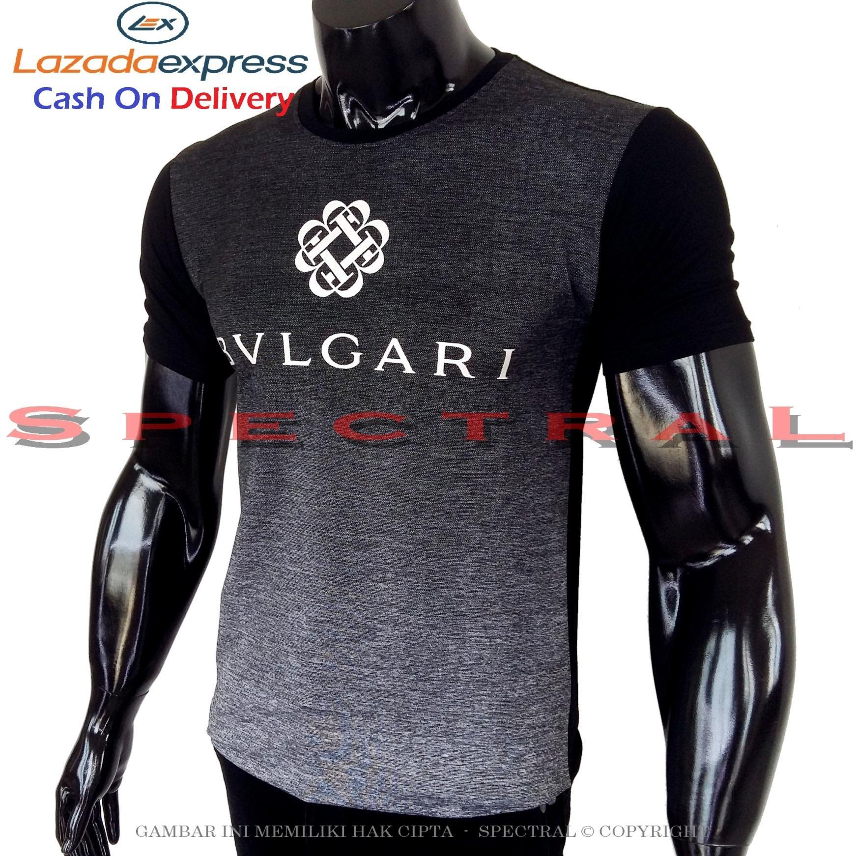 Spectral - Kaos Distro BLVGARI Soft Rayon Viscose Lycra Pola M Fit To L Simple Fashionable Tidak Pasaran Kombinasi Garis Motif Art Visual