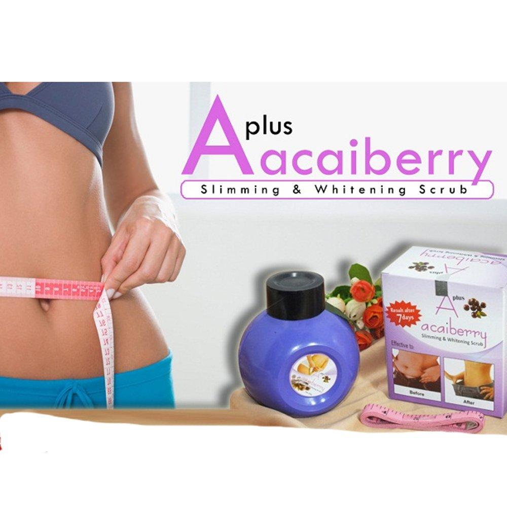 CREAM PELANGSING - A+ACAI BERRY SLIMMING ORIGINAL EMERALD (ACAI LOTION,BODY LOTION WHITENING)