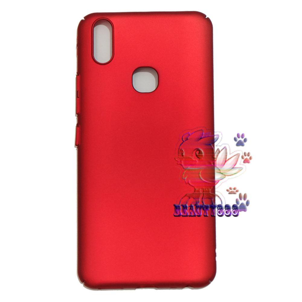 Case Vivo V9 Hard Slim Red Mate Anti Fingerprint Hybrid Case Baby Skin Vivo V9 Baby ...