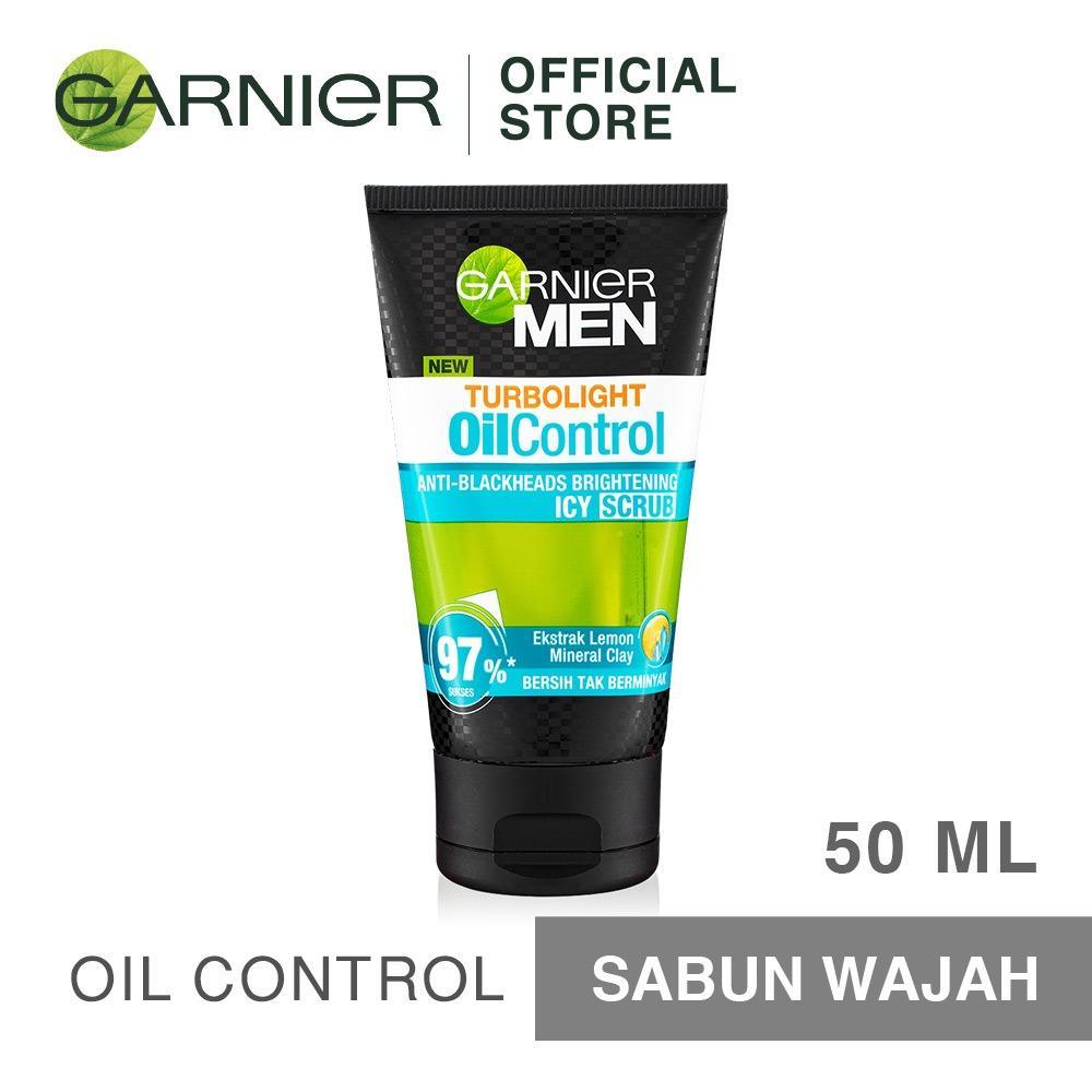 Ponds Men Energy Charge Icy Gel Facial Scrub 50g Produk Terbaik Garnier Turbolight Oil Control 50 Ml