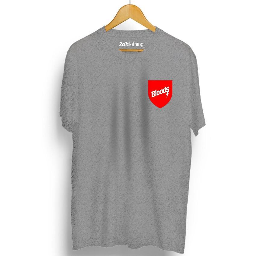 Tshirt - Kaos Distro Bloods Unisex Premium Quality