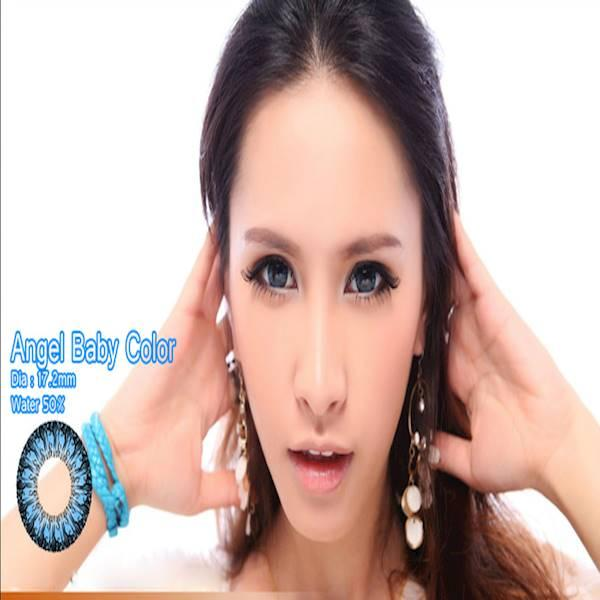 Softlens Baby Color Angel Series Blue (Biru)
