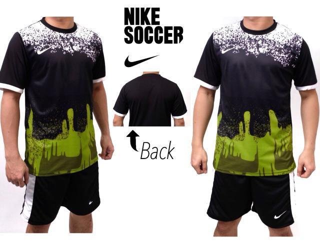 Setelan futsal splash hijau/kostum futsal/sragam bola/jersey bola - KHzeYc