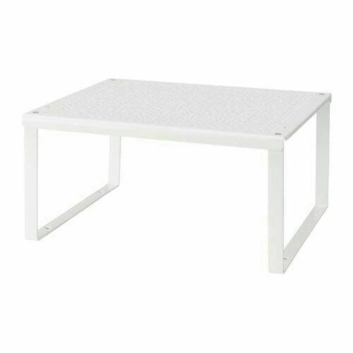 RAK SISIPAN / meja kecil bahan besi IKEA VARIERA 32x28x16cm