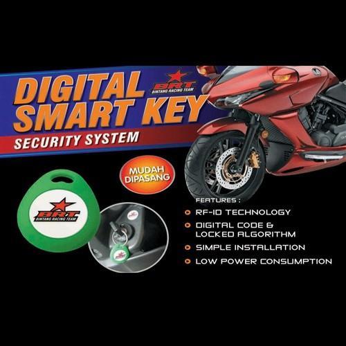 Alarm Motor Honda Beat POP Fi Injection I-Max Digital Smart Key T4433
