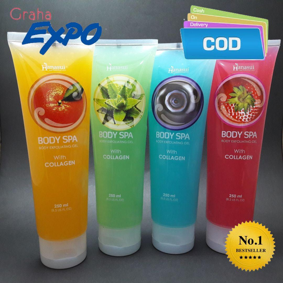 NEW BODY SPA PEELING GEL HANASUI BPOM PENGHILANG DAKI