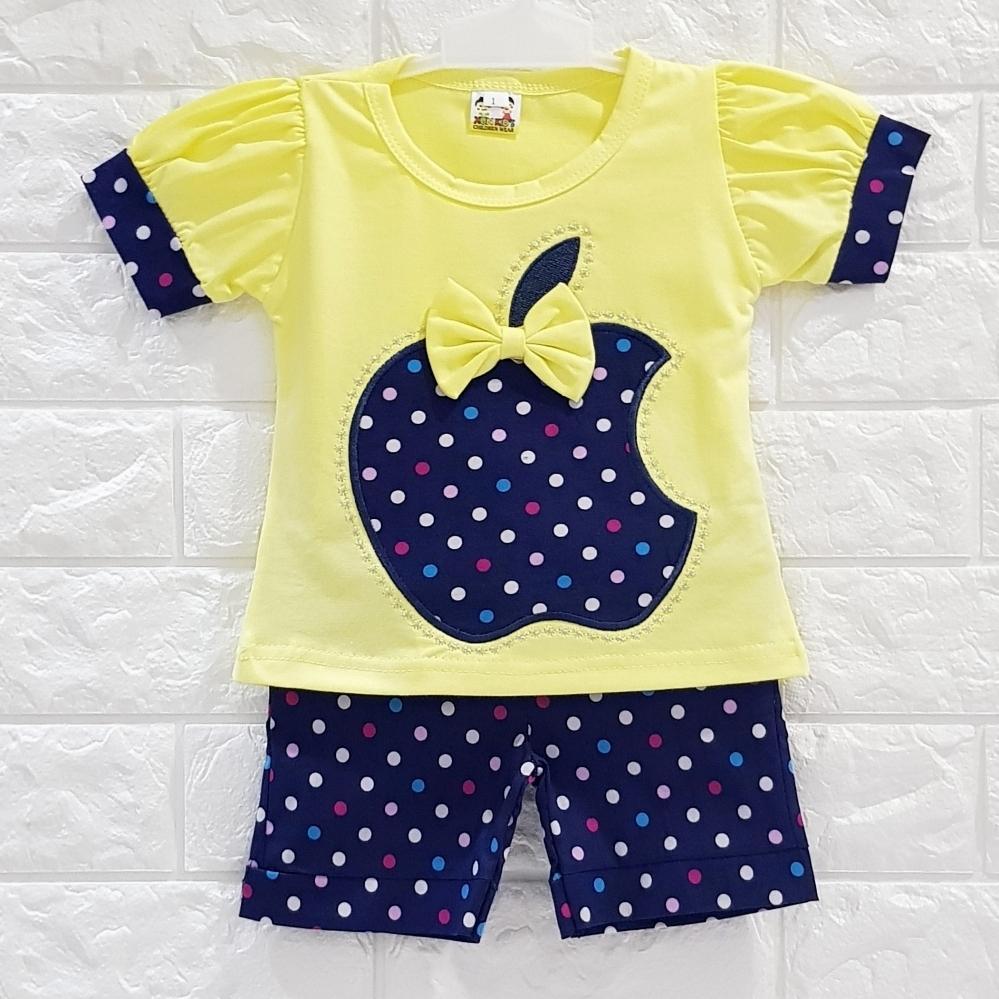 Fitur Baju Bayi Perempuan Baby Malika Gamis Aysa Tropicassia Setelan Anak Import Miko Girl Apple Polkadot