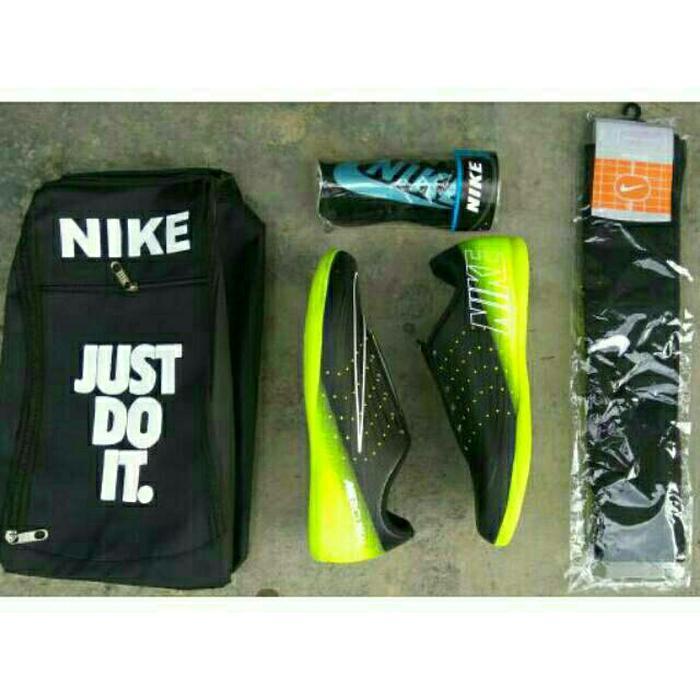 Promo - Paket Komplit Sepatu Futsal Nike Mercurial Grade-Ori