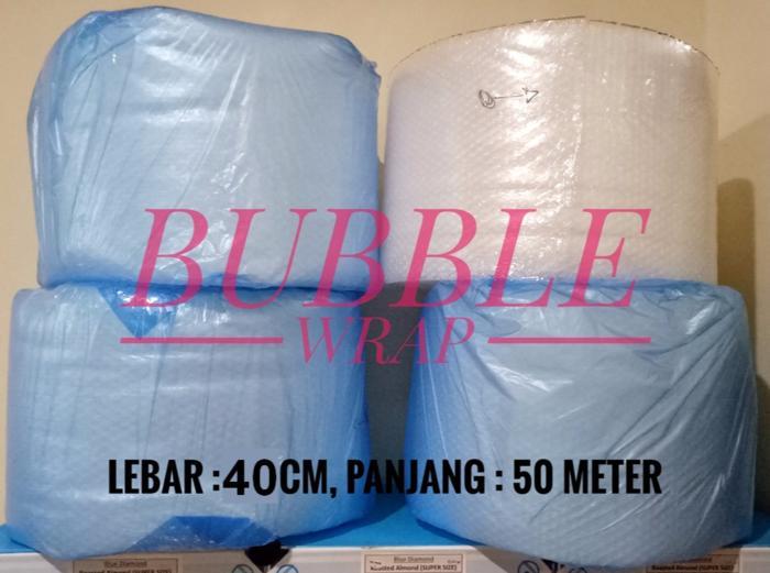 Bubble Wrap Lebar : 40 cm, Panjang : 50 Meter - wRtwQj