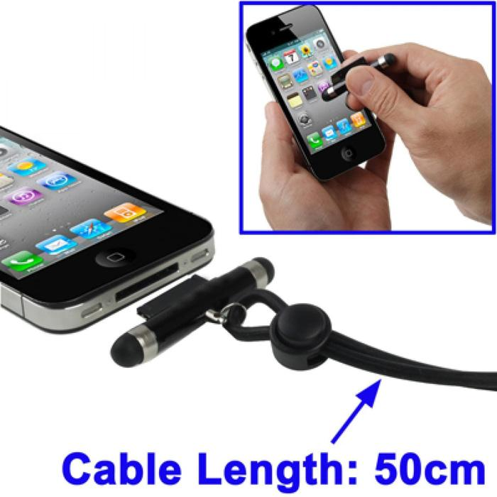 2 In 1 Touch Pen For Iphone 4 / 3GS / 3G / Ipad 2 / Ipad (Touch Pen +