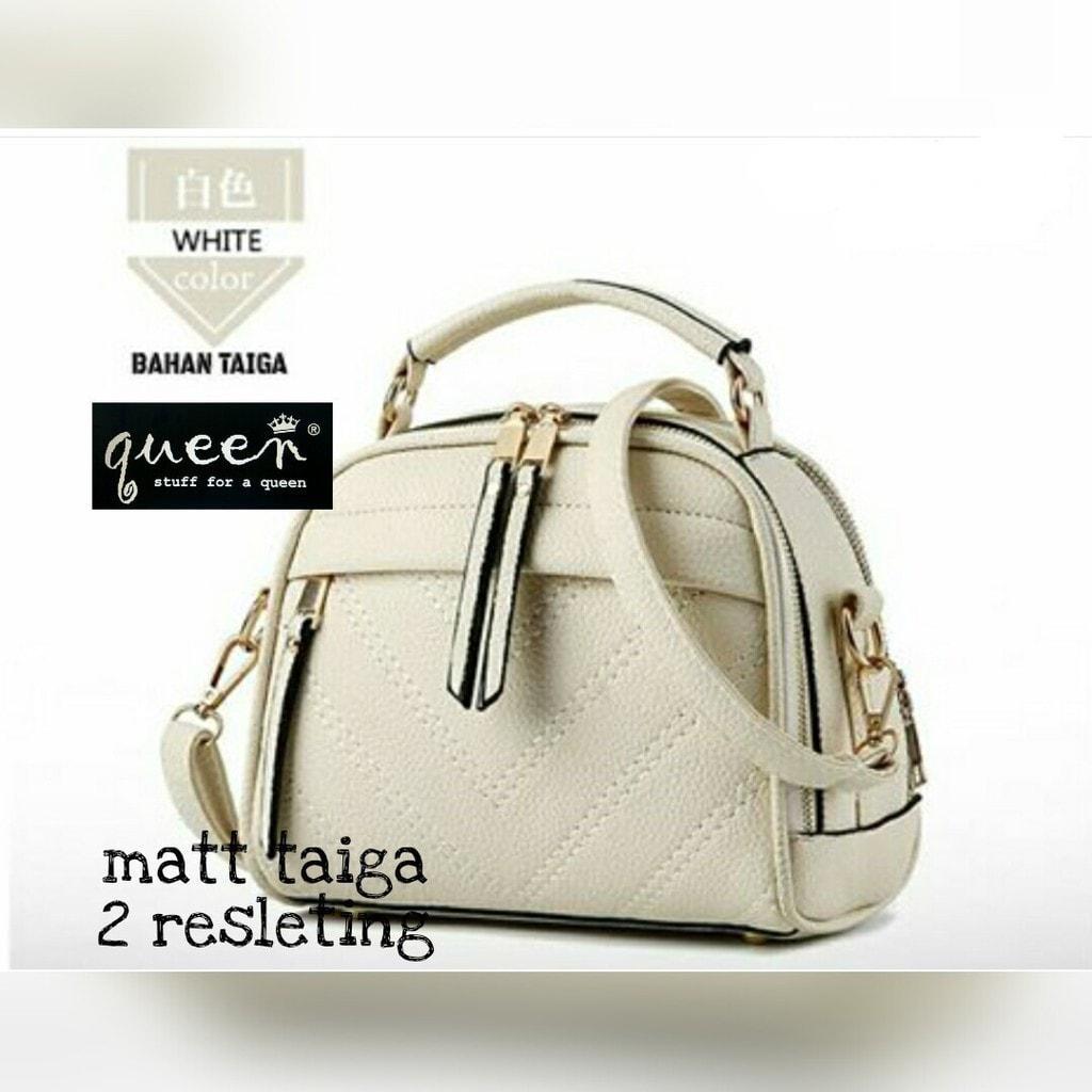 Jual Tas Fashion / Handbag / Slingbag Wanita Milano Cream Pusat Tas Murah - Beige Promo