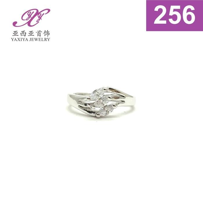 Cincin Anak Permata Emas Putih Perhiasan Imitasi  256