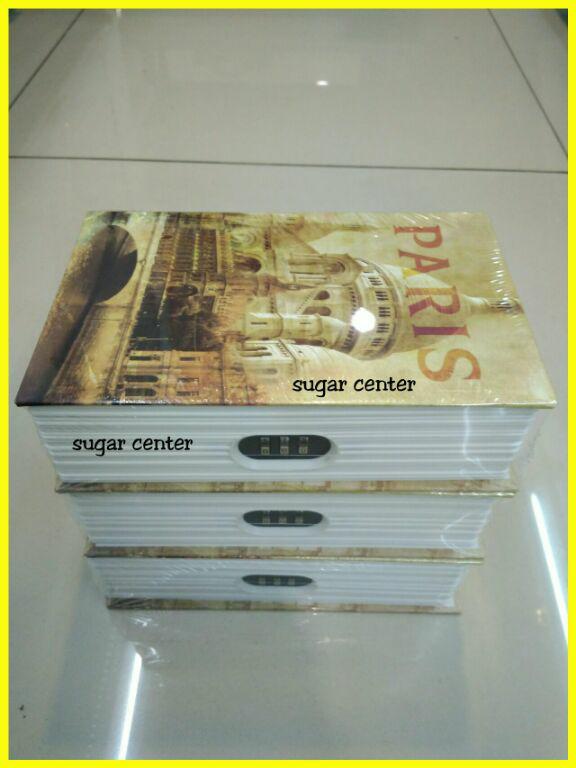 Brangkas Model Buku/Book Safe/Steel Book Paris - 3egTt8