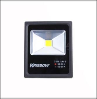 Harga preferensial KRISBOW LAMPU LED FLOOD 30W 3000K IP65 terbaik murah - Hanya Rp228.735