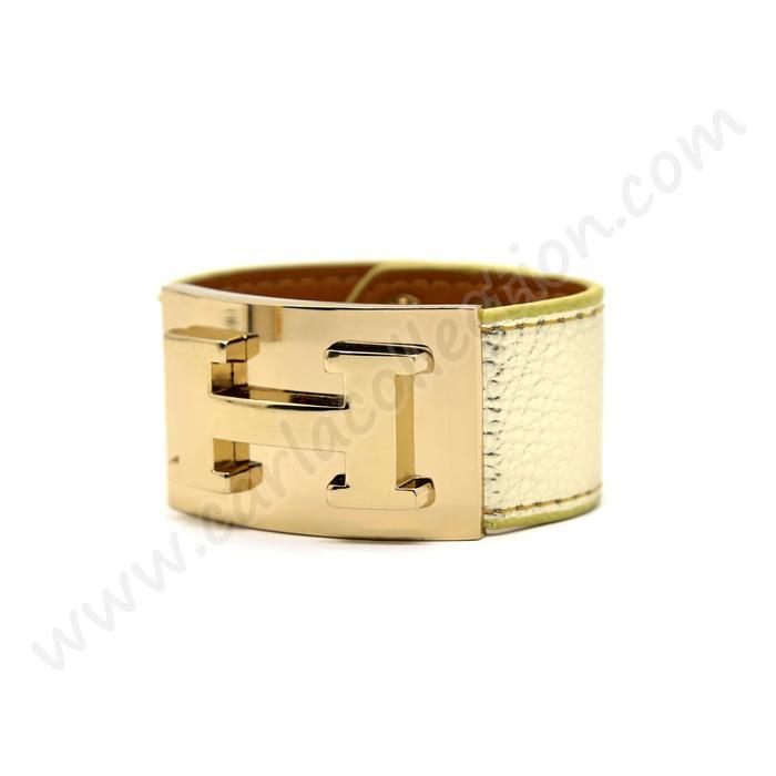 gelang tangan hermes kulit- aksesoris wanita cantik kekinian-gelang kekinian tercantik
